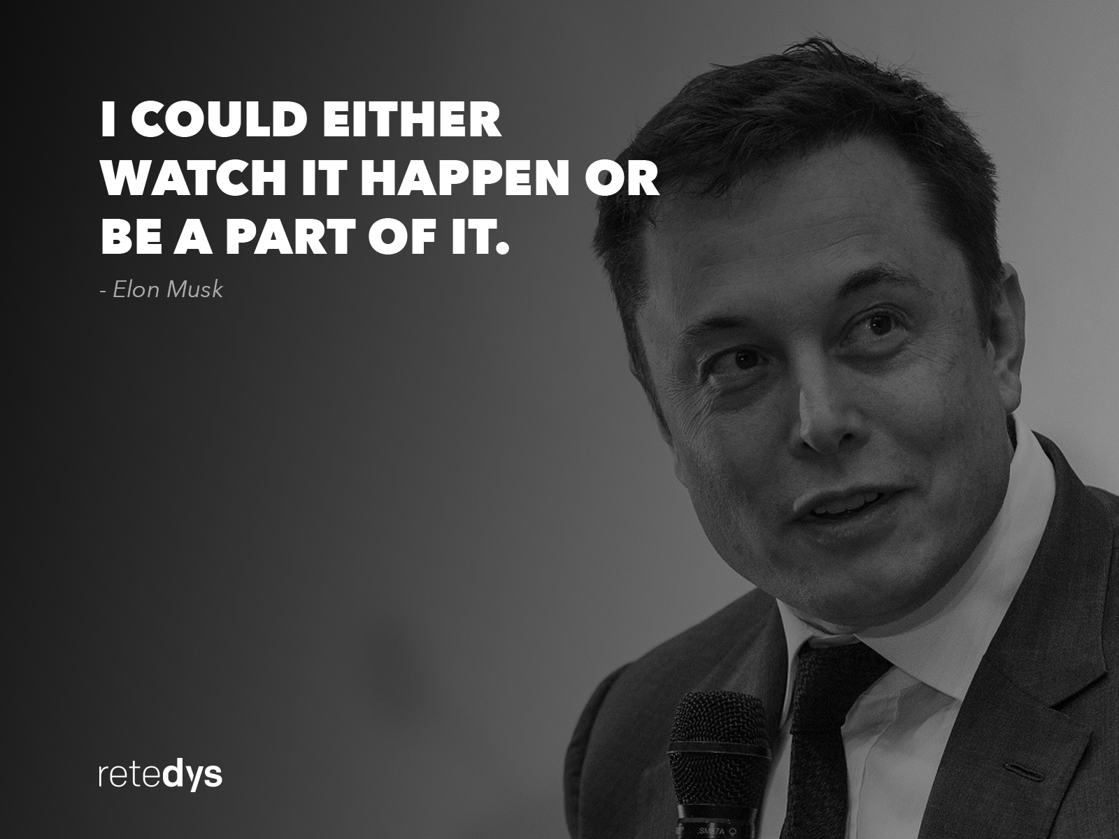 Disruption Quote by Elon Musk - Retedys