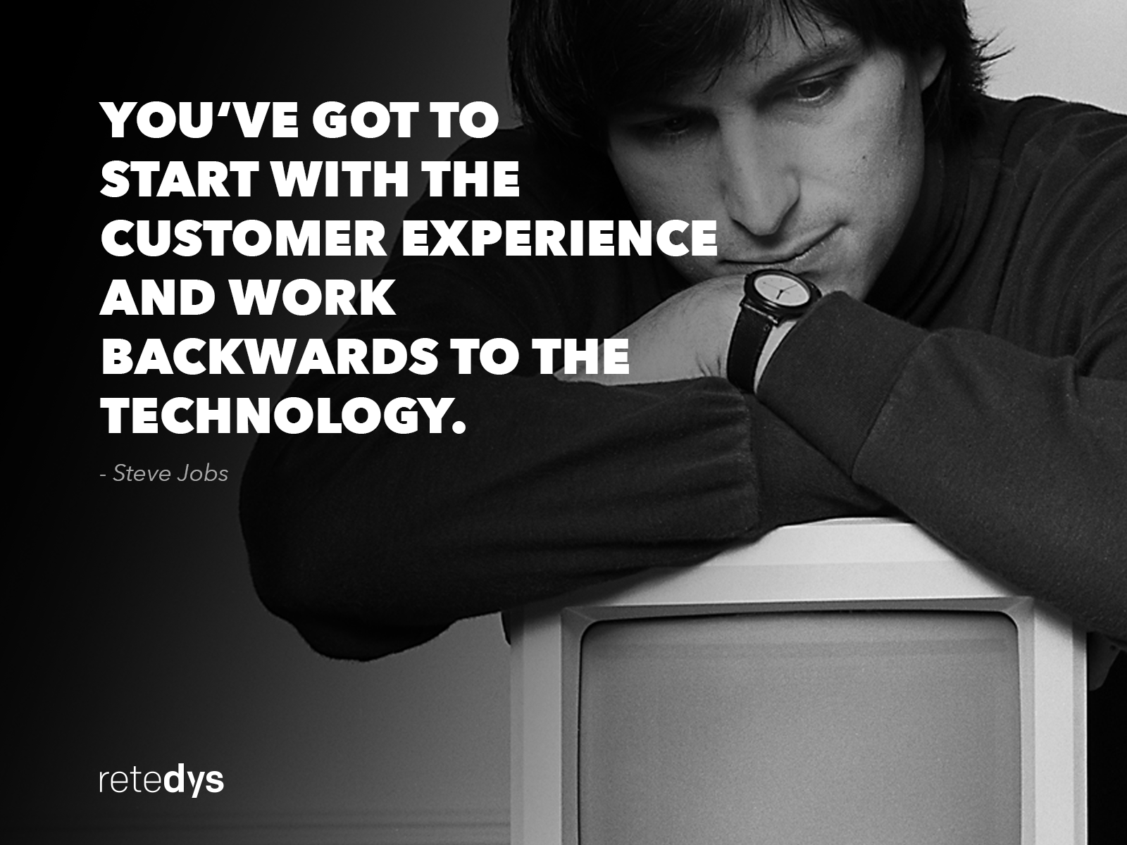 Technology Quote by Steve Jobs - Retedys